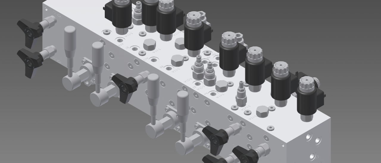 Einschraubventiltechnik, Ein- und Aufbaukomponenten